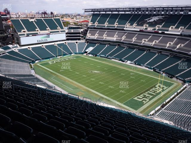 Lincoln Financial Field Section 207 view