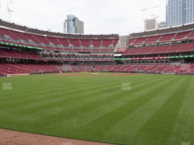 Great American Ball Park Section 145 view