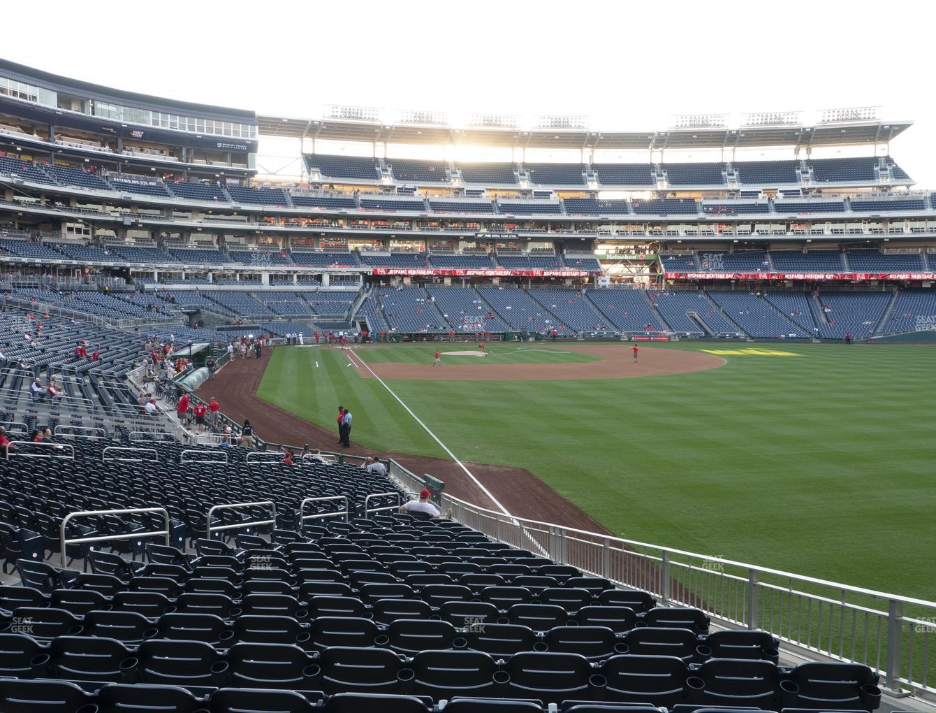 Washington Nationals at Nationals Park Section 137 View