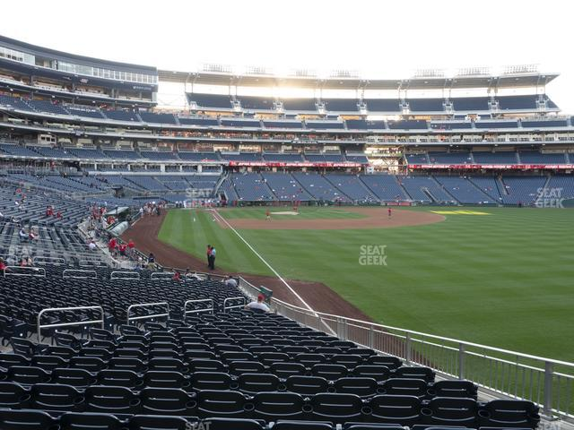 Nationals Park Section 137 view