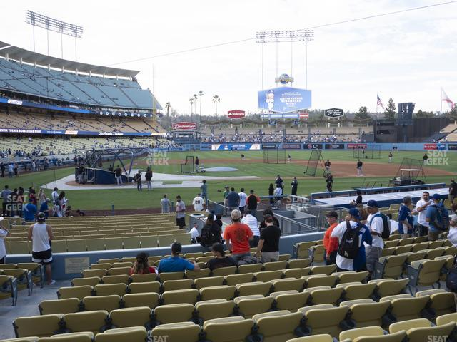 Dodger Stadium Field Box 12 view