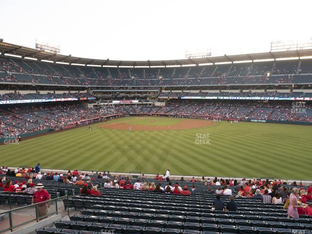 Angel Stadium of Anaheim Section 247 view
