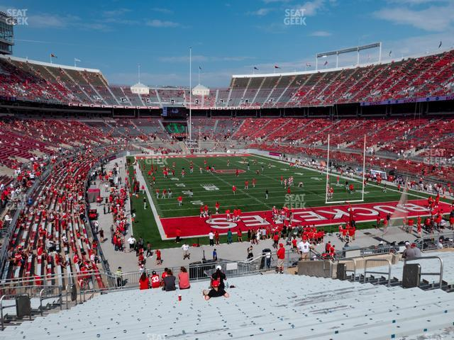 Ohio Stadium Section 35 A view