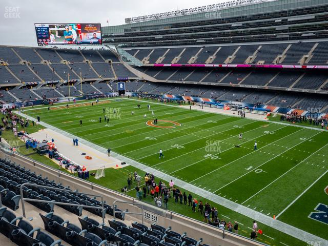 Soldier Field Section 331 view