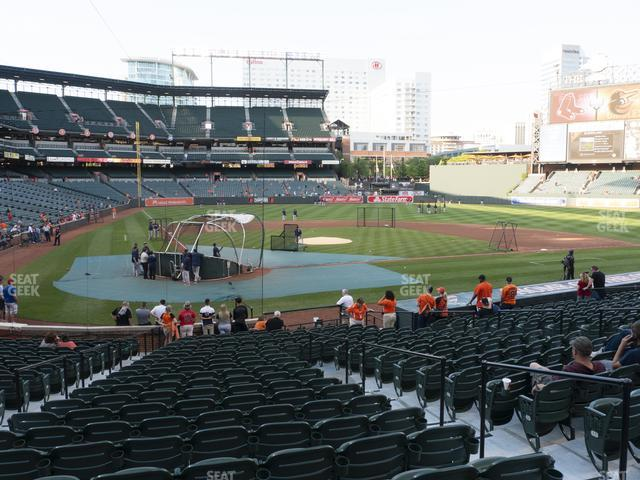Oriole Park at Camden Yards Section 30 view