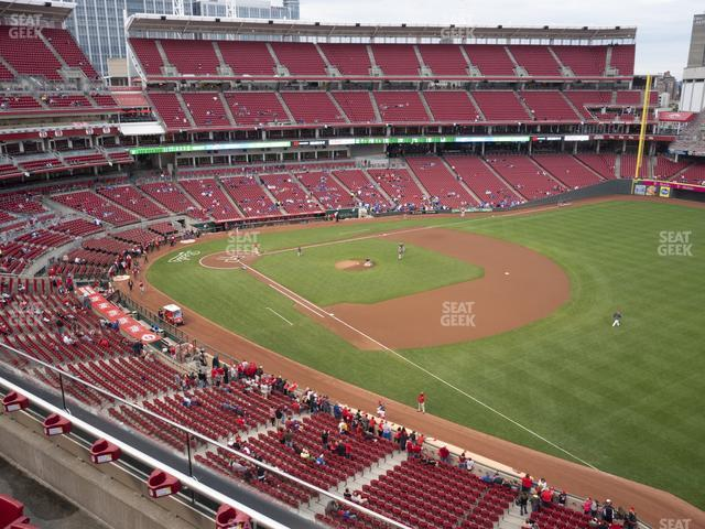 Great American Ball Park Section 435 view