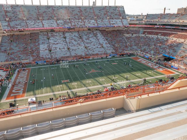 Darrell K Royal - Texas Memorial Stadium Section 130 view