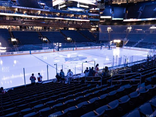 Nationwide Arena Section 105 view