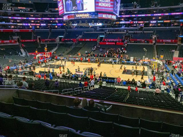 Staples Center Premier 4 view