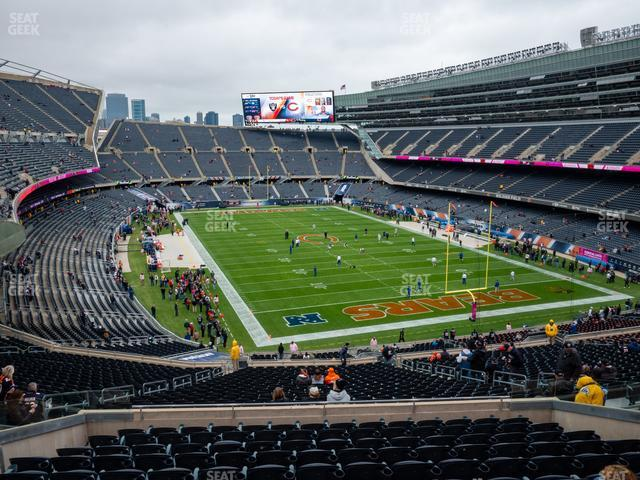 Soldier Field Section 325 view
