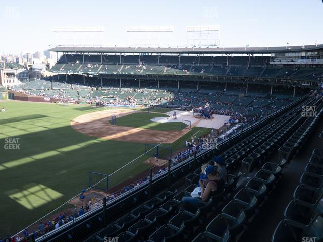 Wrigley Field Section 304 Left view