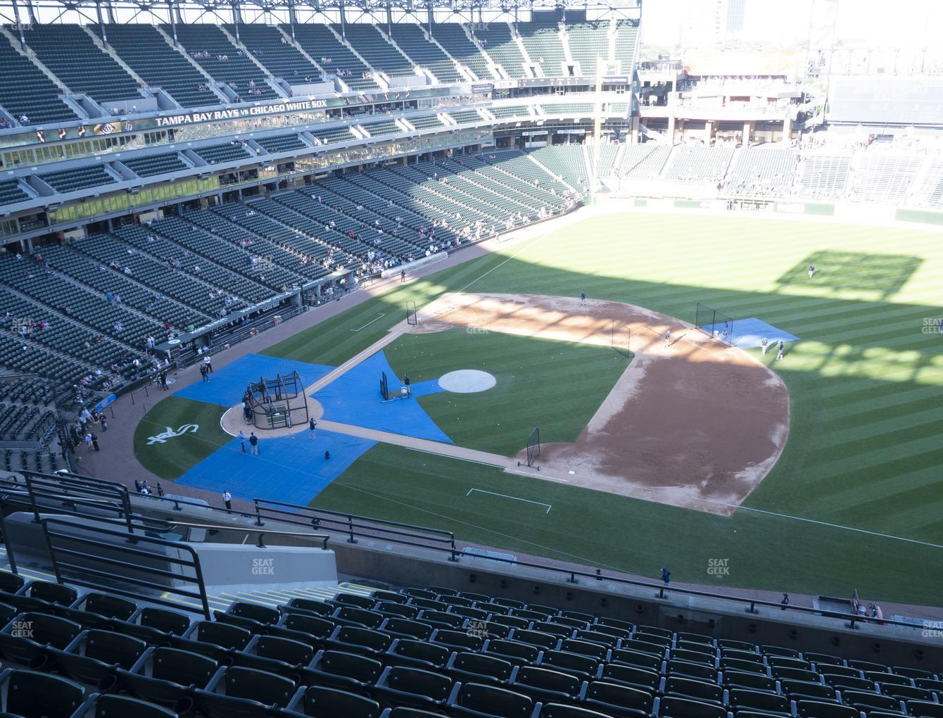 Chicago White Sox at Guaranteed Rate Field Section 522 View