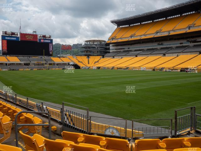 Heinz Field Section 116 view