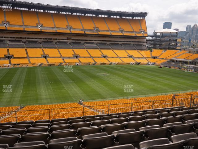 Heinz Field Section 232 view