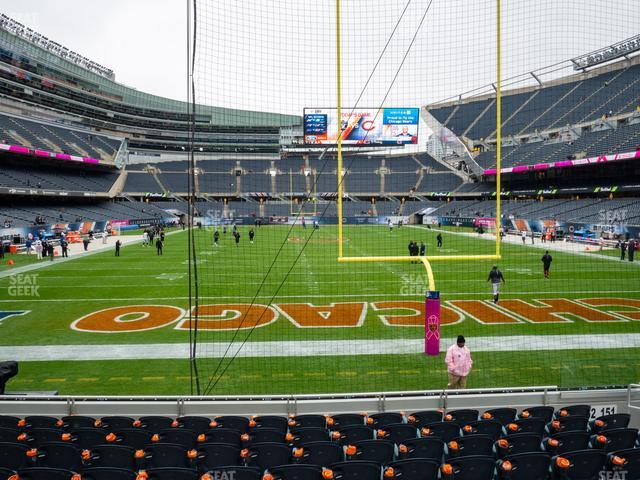 Soldier Field Section 152 view