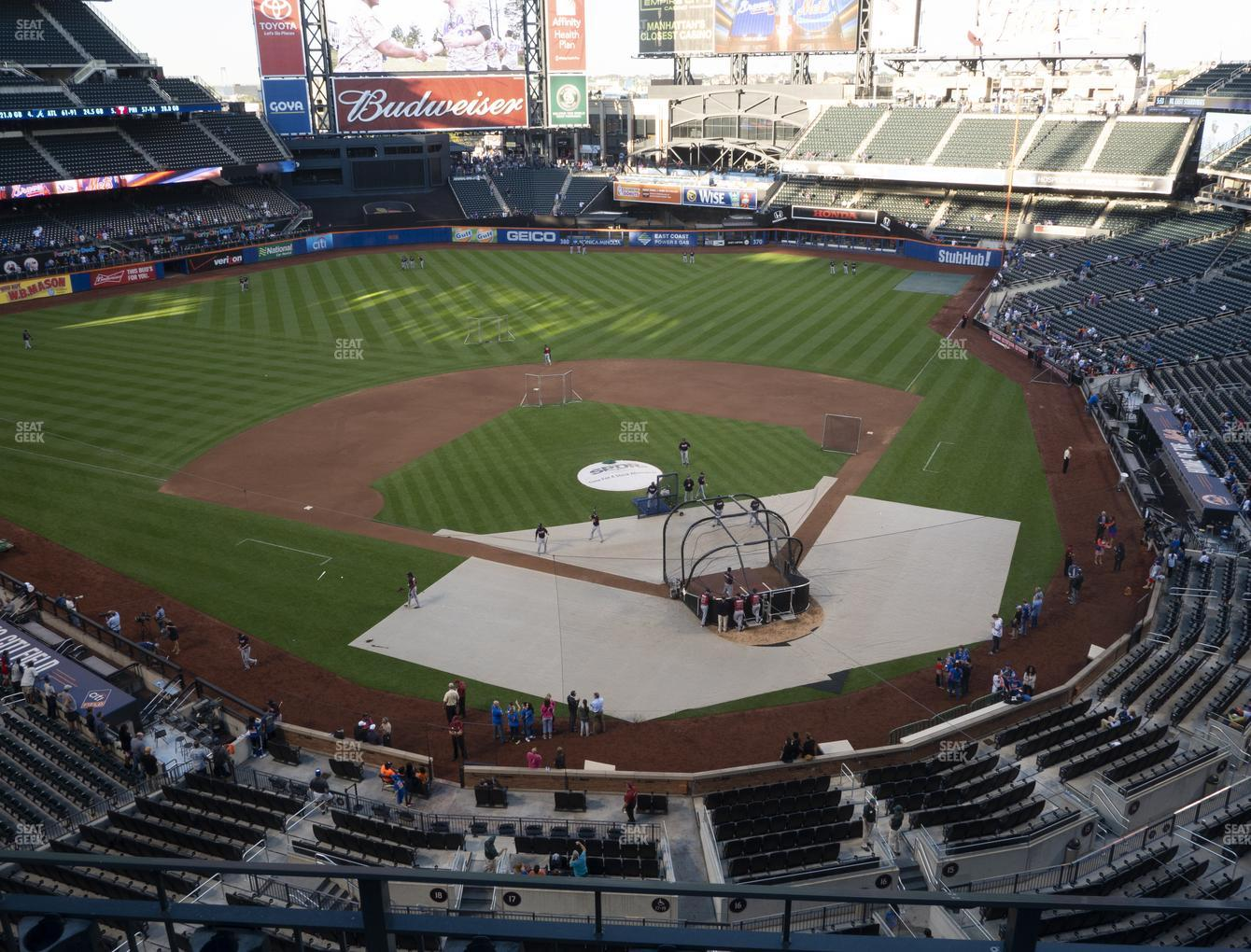 Citi Field Section 417 Seat Views | SeatGeek on