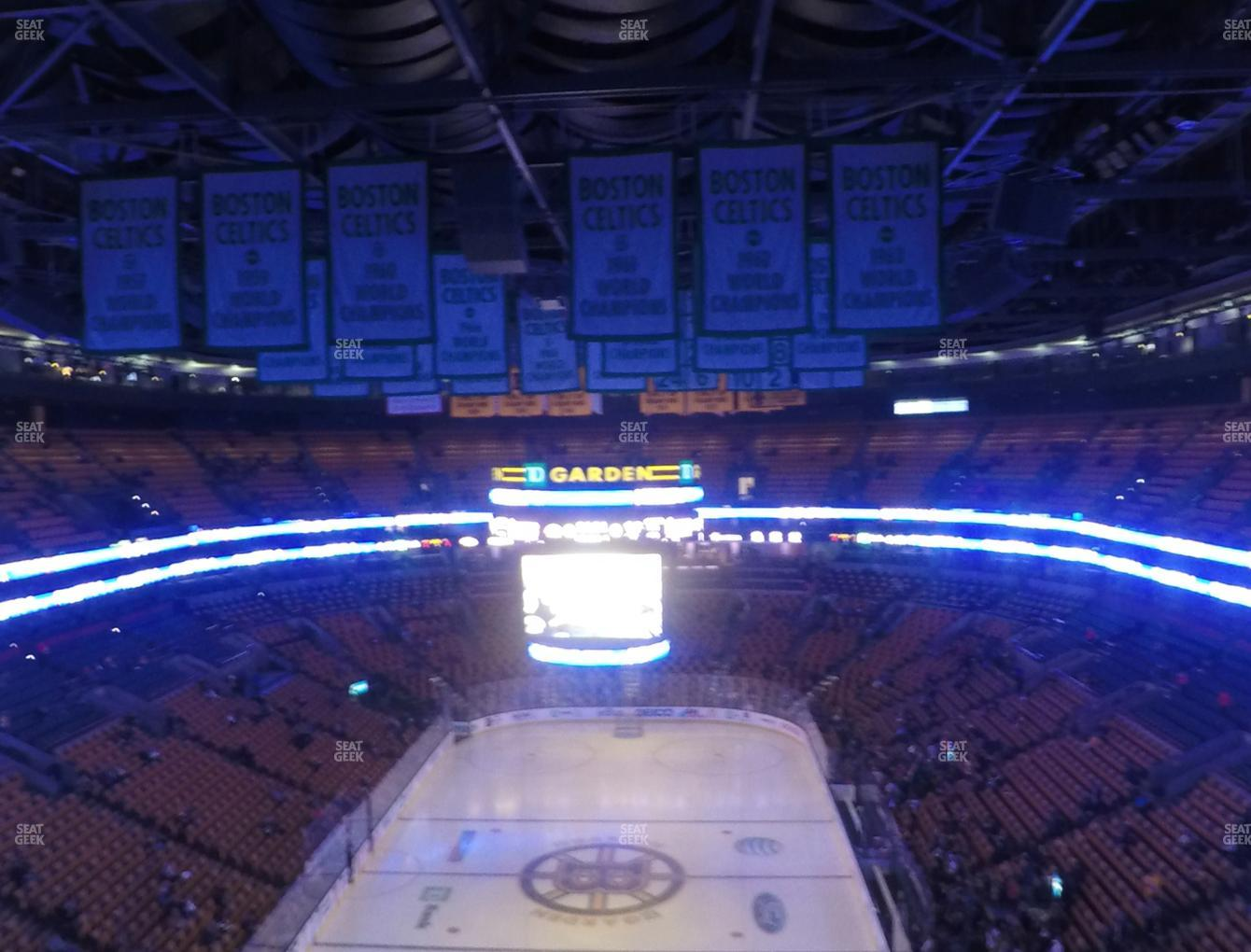 Boston Bruins at TD Garden Balcony 308 View