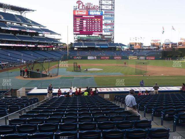 Citizens Bank Park Section 118 view