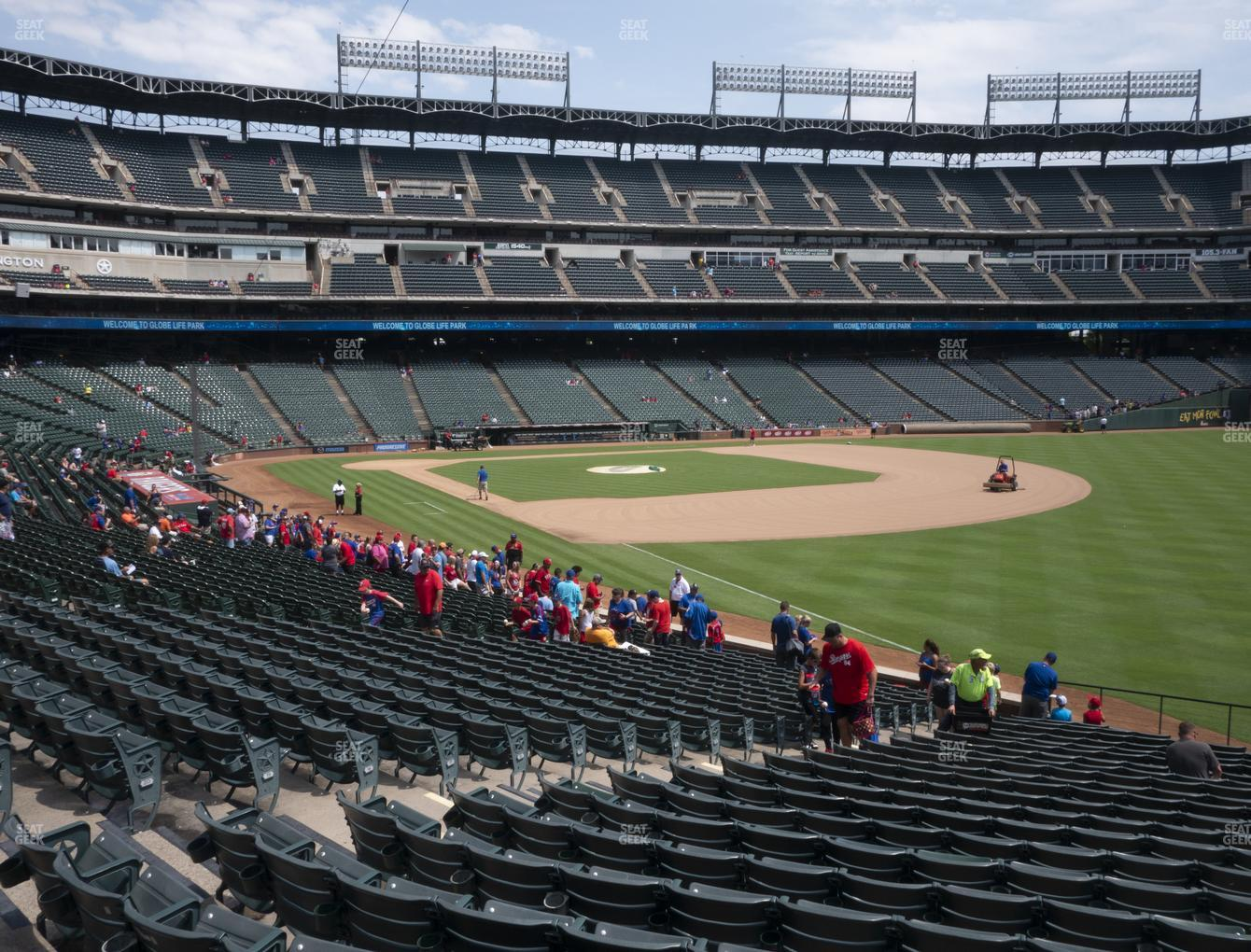 Concert at Globe Life Park Section 40 View