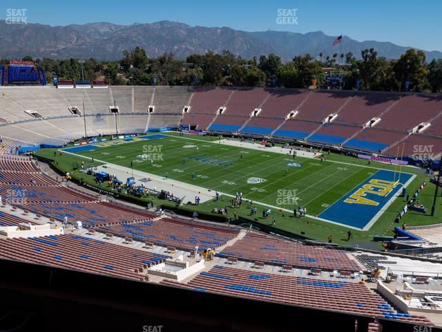 The Rose Bowl Section Club 202 view
