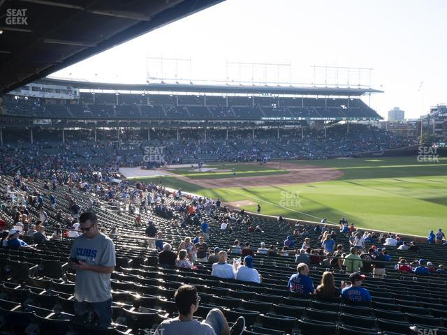 Wrigley Field Section 231 view