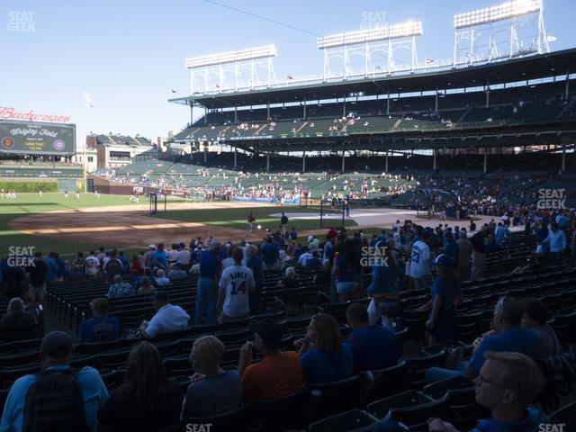 Wrigley Field Section 109 view
