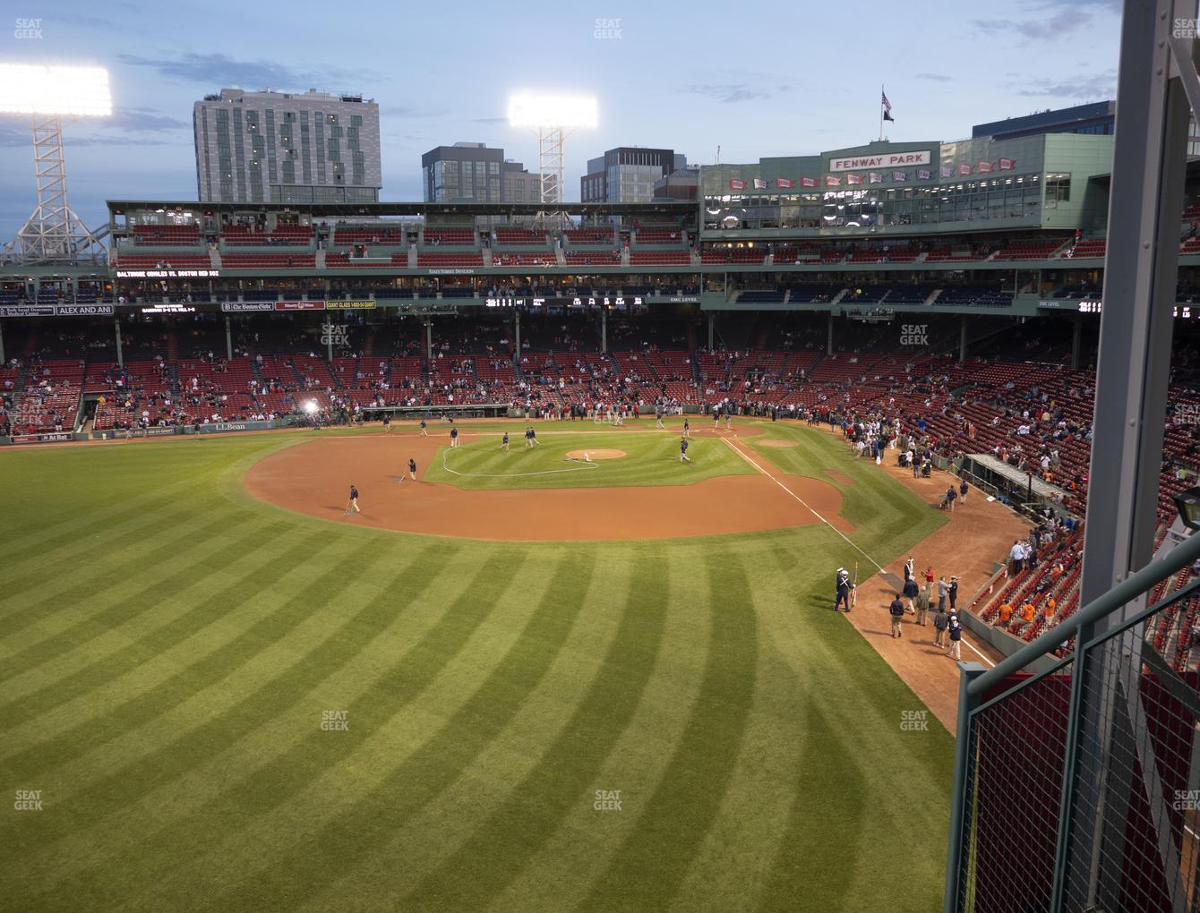 Boston Red Sox at Fenway Park Green Monster 3 View