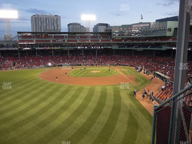 Fenway Park Green Monster 3 view
