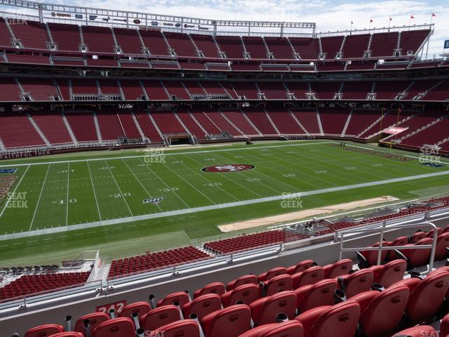 Levi's Stadium Section 243 view