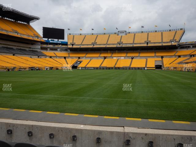 Heinz Field Section FC 4 view