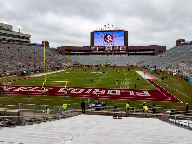 Doak Campbell Stadium Section 119 view