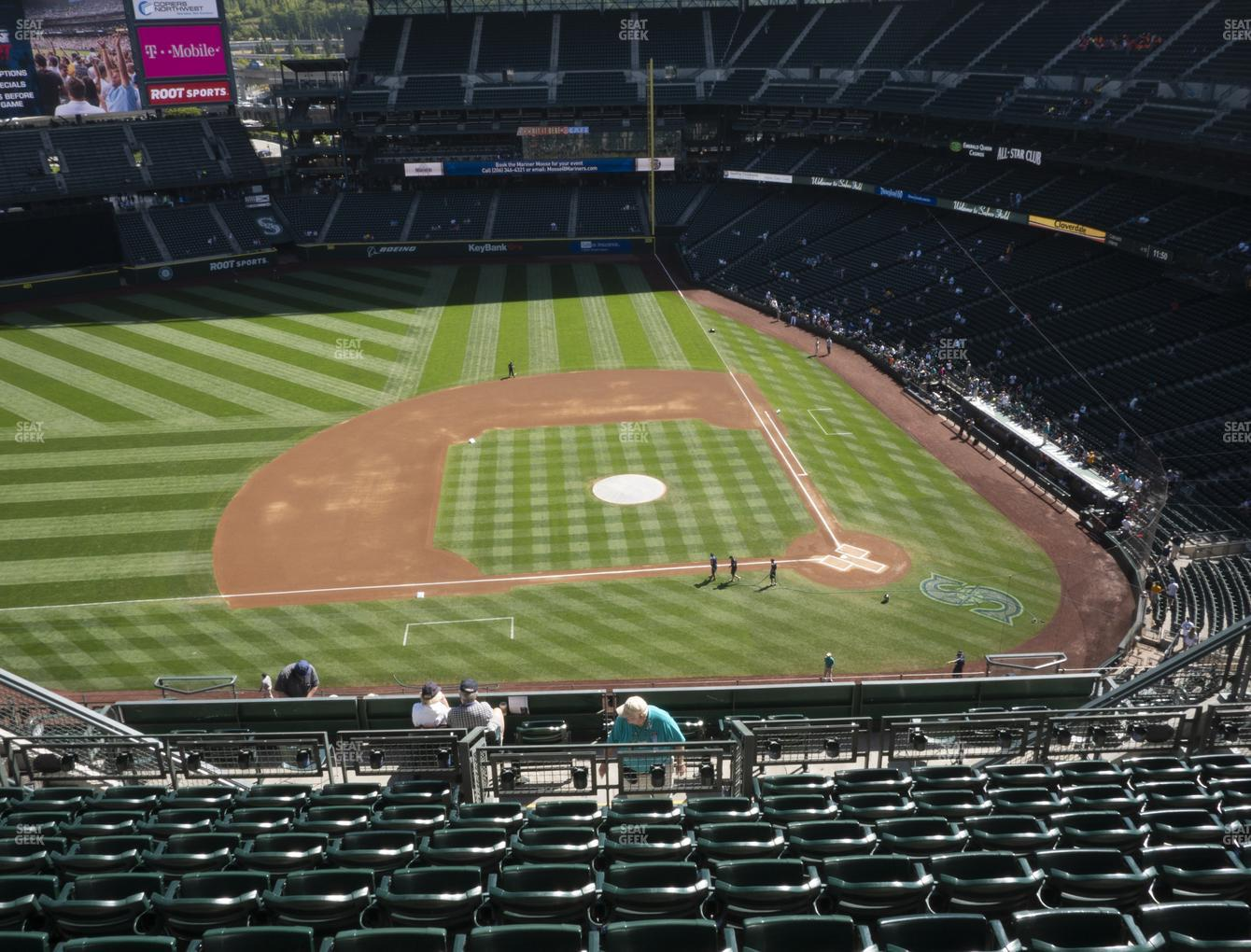 Seattle Mariners at T-Mobile Park Section 337 View