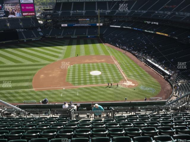 T-Mobile Park Section 337 view