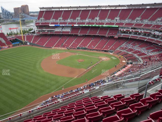 Great American Ball Park Section 512 view