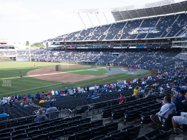 Kauffman Stadium Section 214 view