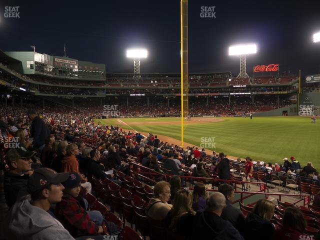 Fenway Park Right Field Box 92 view