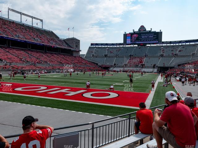 Ohio Stadium Section 9 AA view
