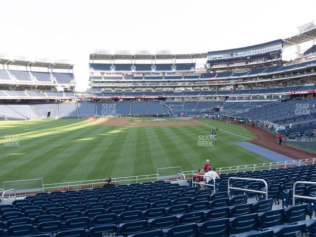 Nationals Park Section 104 view