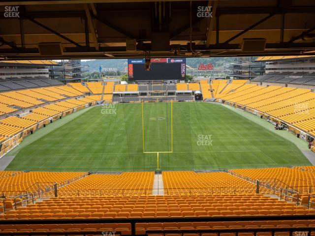 Heinz Field North Club 008 view