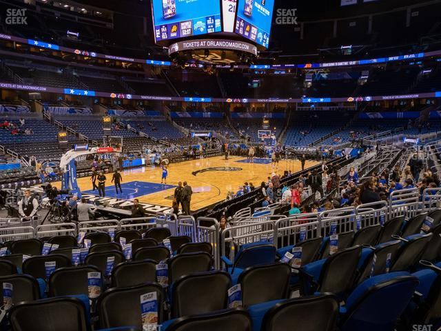 Amway Center Section 117 view