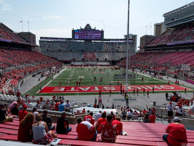 Ohio Stadium Section 4 A view