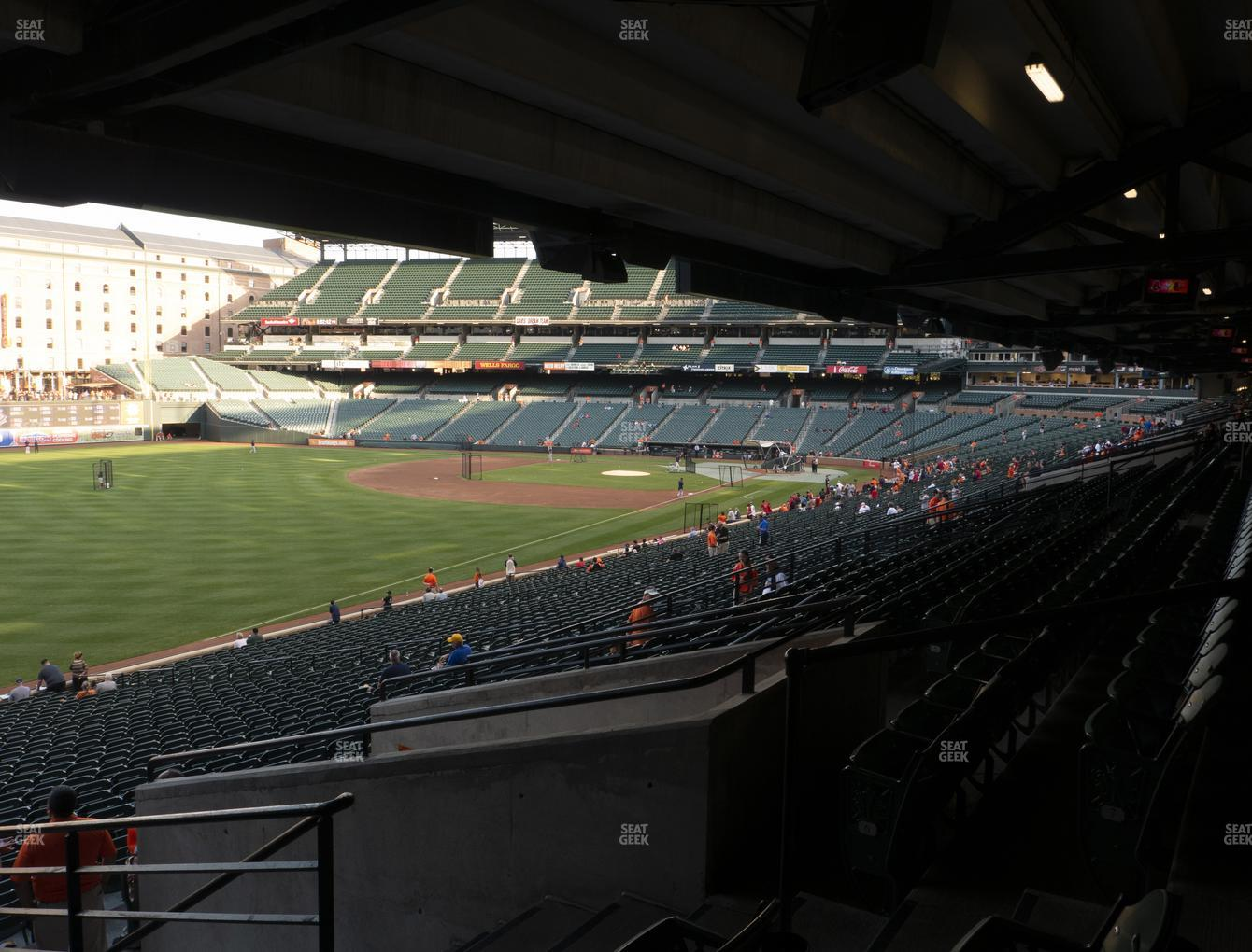 Baltimore Orioles at Oriole Park at Camden Yards Section 71 View