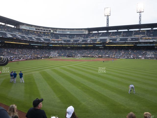 PNC Park Section 139 view