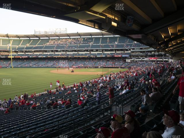 Angel Stadium of Anaheim Section 204 view