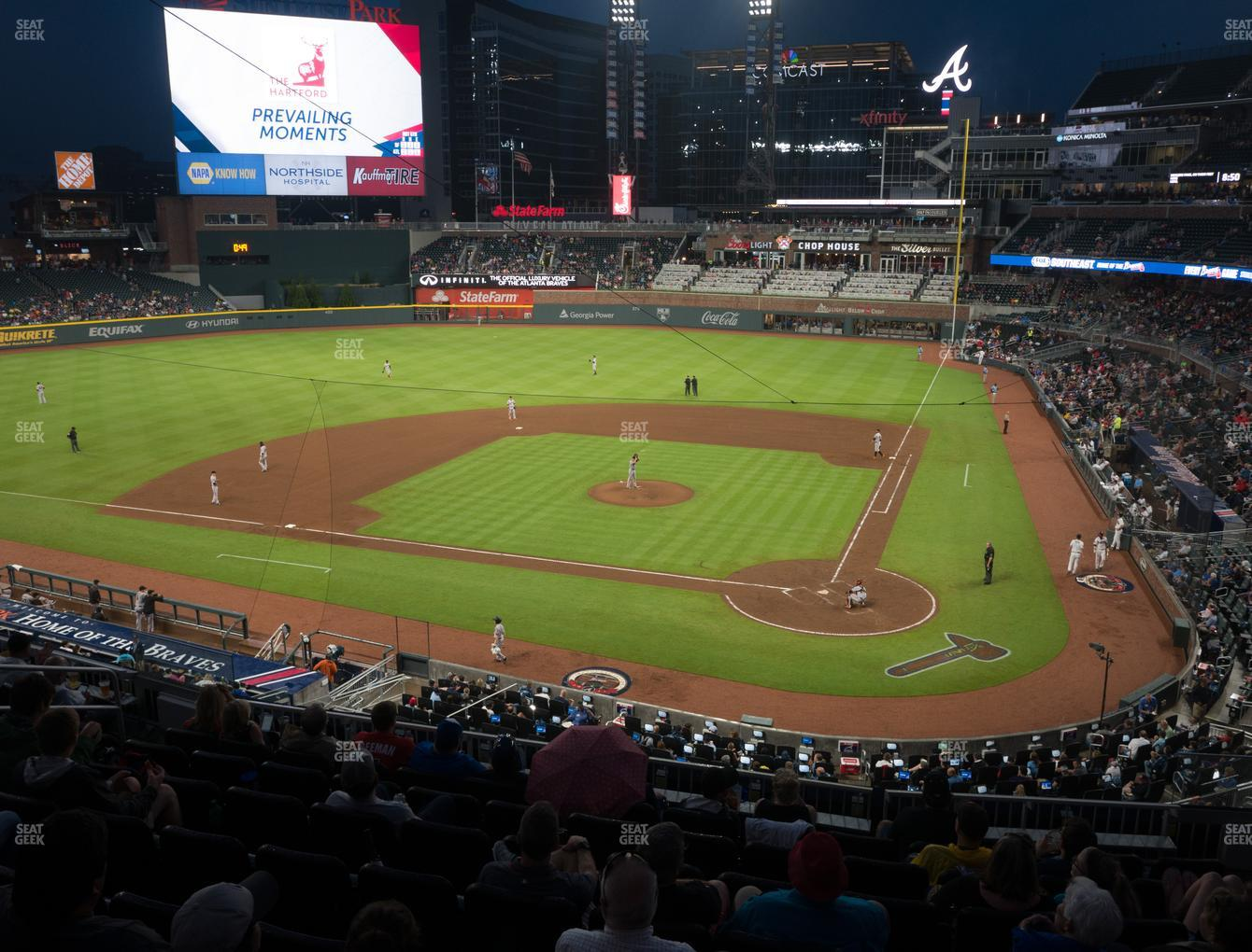 Atlanta Braves at Truist Park Section 229 View