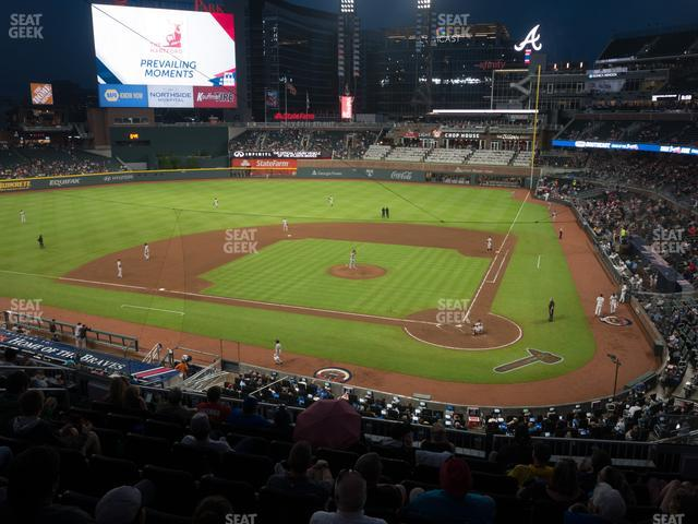 SunTrust Park Section 229 view