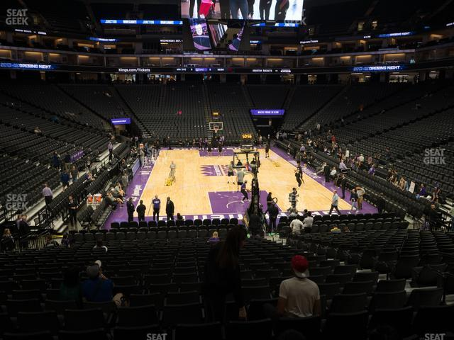 Golden 1 Center Section 101 view