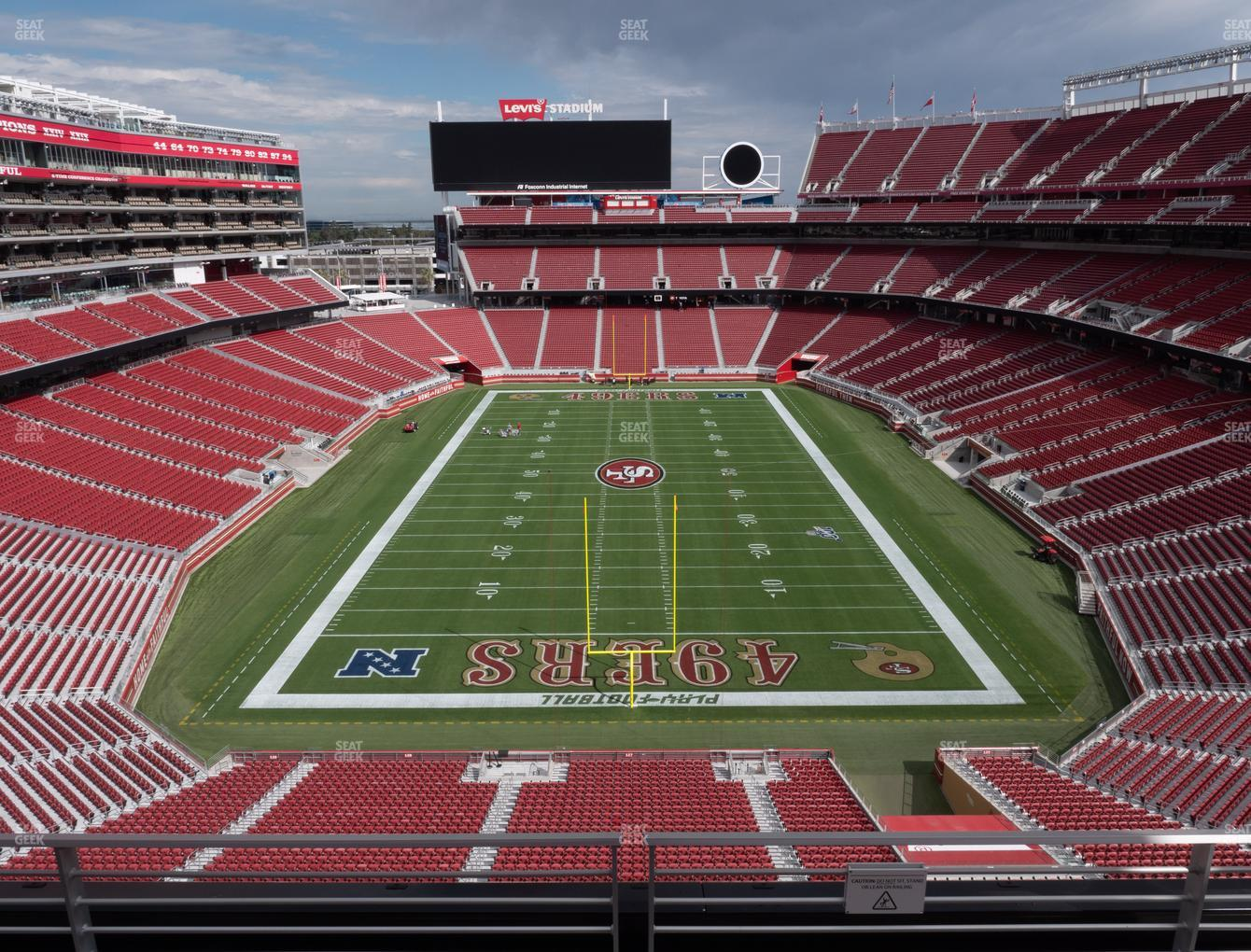 San Francisco 49ers at Levi's Stadium Section 326 View
