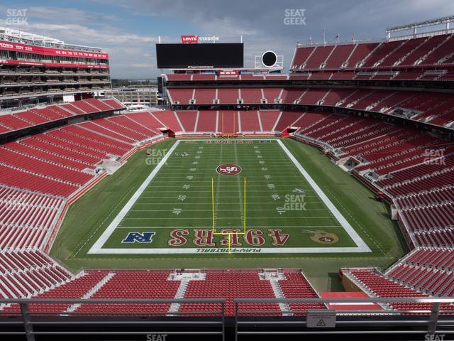 Levi's Stadium Section 326 view