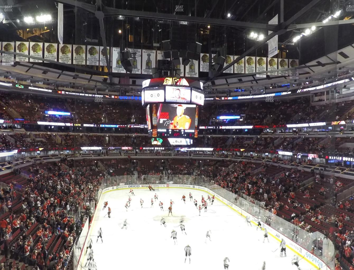 Chicago Blackhawks at United Center Section 227 View